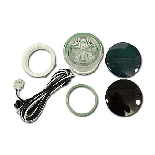 "Light Lens Kit, Waterway, OEM, 8', Amp, Rear Access, 3-1/2""Face, 2-1/2""Hole"