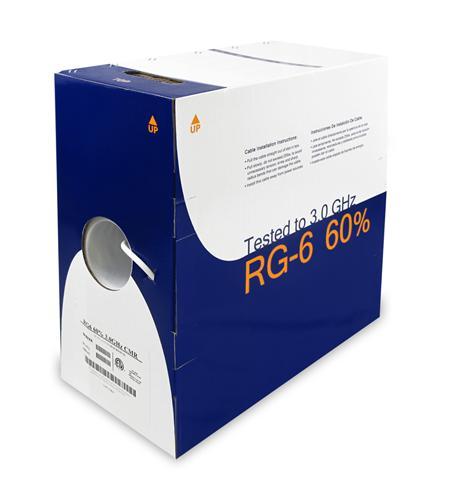 RG6 COAX 1000FT PULL BOX BOX RG6URBK