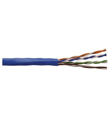 CAT5 CABLE RISER 1000 FT BLUE