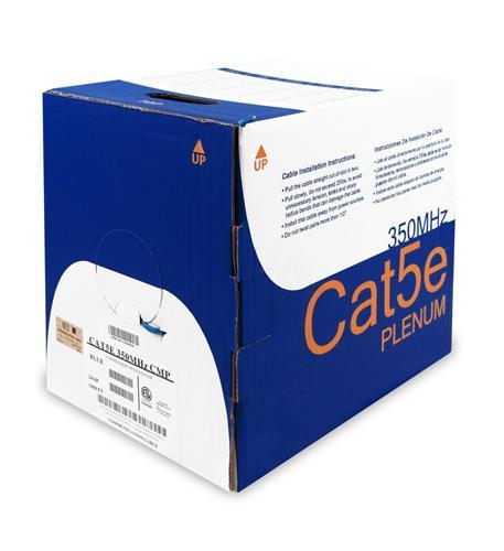 5E04UPBL4 CAT5 PLENUM 1K BLUE
