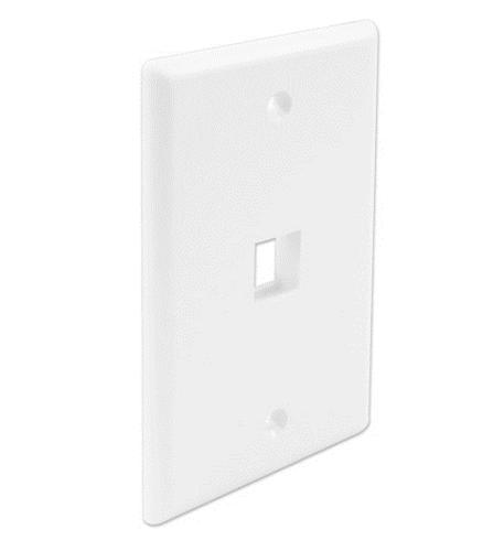 FP01PWH-SPK FACEPLATE 25 PK WHITE