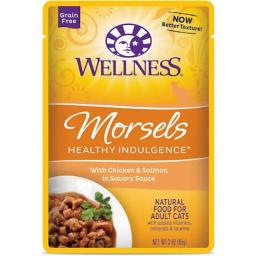 Cat Food - Morsels With Chicken And Salmon In Savory Sauce ( 24 - 3 OZ )