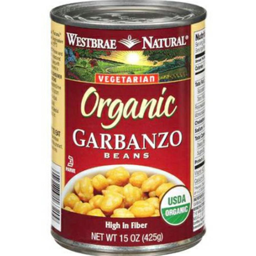 Westbrae Natural - Garbanzo Beans ( 12 - 15 OZ)