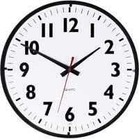 """14"""" Office Black White Clock"""