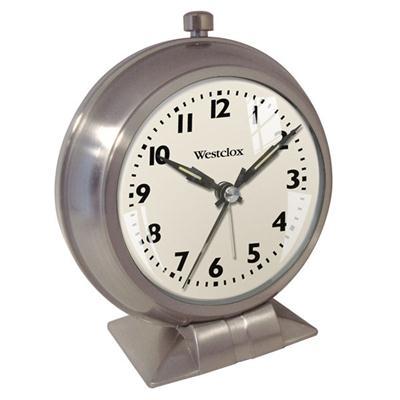 WC Classic Metal Alarm Clock