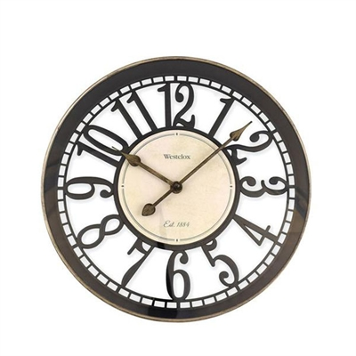 "12"" OPEN ARABIC WALL CLOCK"