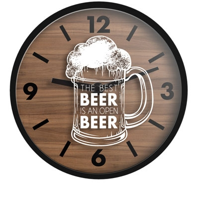 "16"" Beer Wall Clock"