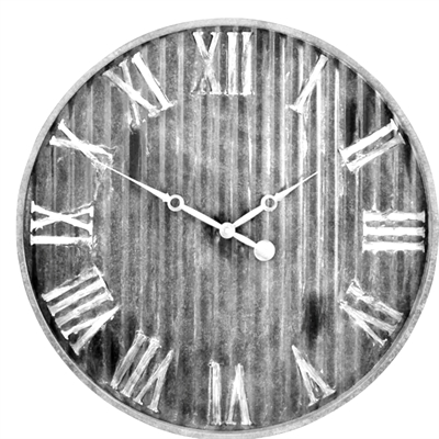 "13"" Metal Wall Clock"