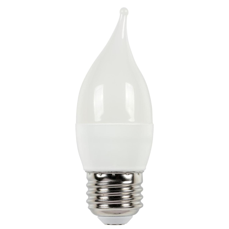 5W C11 LED 2700K E26 (Medium) Base, 120 Volt, 2-Pack, Card