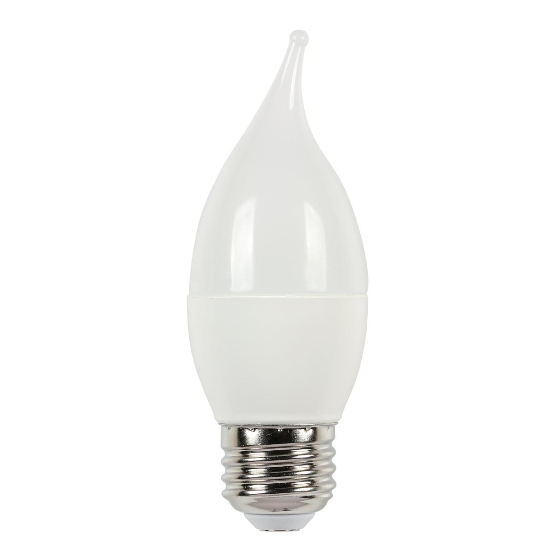 7W C13 LED 2700K E26 (Medium) Base, 120 Volt, 2-Pack, Card