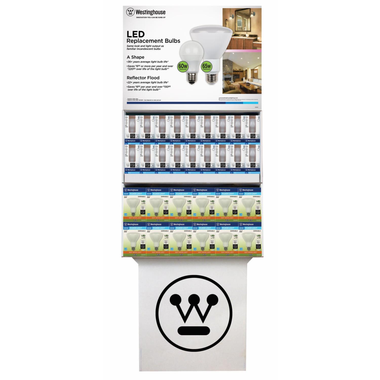 Dim/Non-Dim LED Combo Floor Display