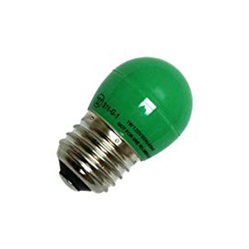 1 Watt Green LED S11 120V SB###