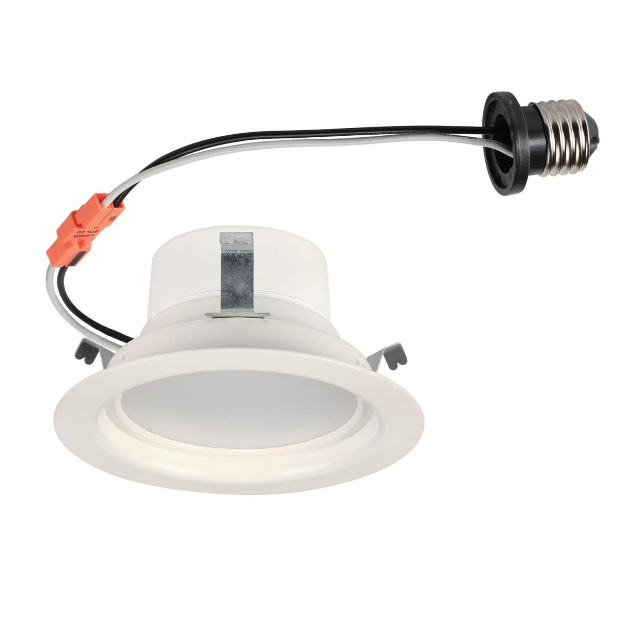 "8W Recessed LED Downlight 4"" Dimmable 3000K E26 (Medium) Base, 120 Volt, Box"