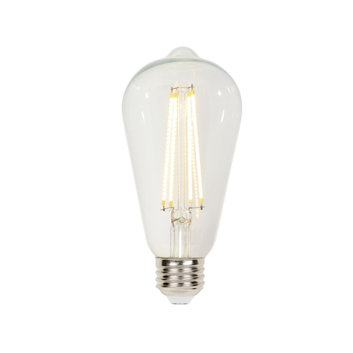 6.5W ST20 Filament LED Dimmable Clear 2700K E26 (Medium) Base, 120 Volt, Box