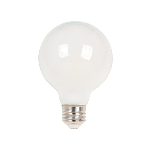6.5W G25 Filament LED Dimmable Soft White 2700K E26 (Medium) Base, 120 Volt, Box
