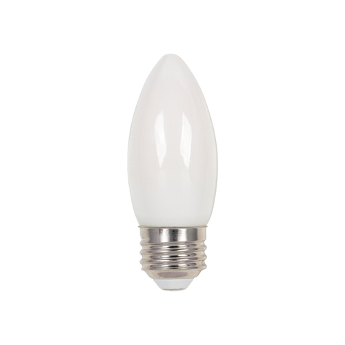 4.5W B11 Filament LED Dimmable Soft White 2700K E26 (Medium) Base, 120 Volt, Box