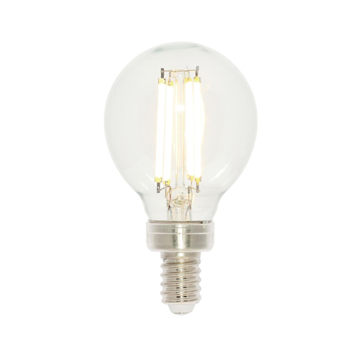 4.5W G16-1/2 Filament LED Dimmable Clear 2700K E12 (Candelabra) Base, 120 Volt, Box