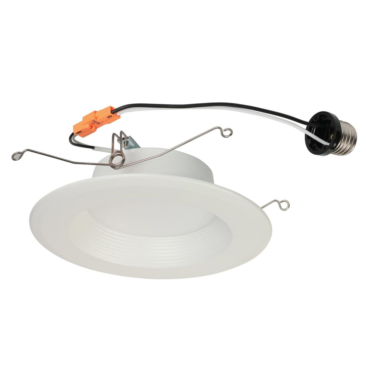 "11W Recessed LED Downlight 5-6"" Dimmable 4000K E26 (Medium) Base, 120 Volt, Box"