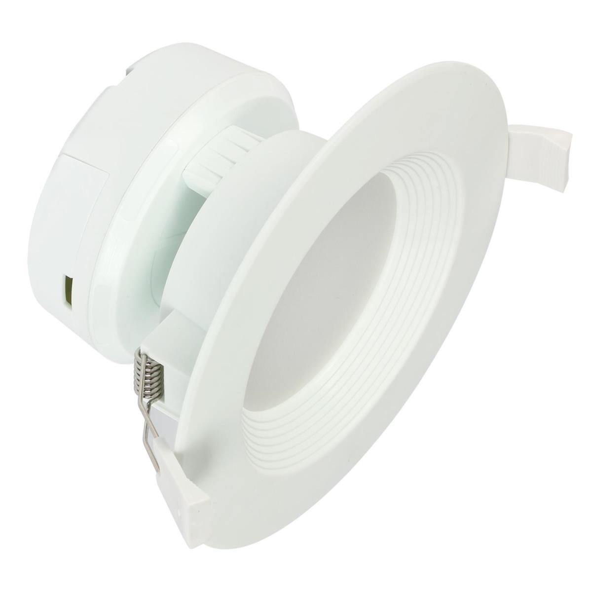 "7W Direct Wire Recessed LED Downlight 4"" Dimmable 2700K, 120 Volt, Box"