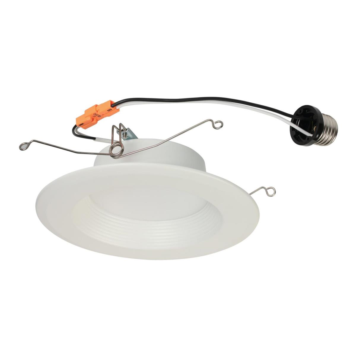 "11W Recessed Downlight 5-6"" LED Dimmable 3000K E26 (Medium) Base, 120 Volt, Box"