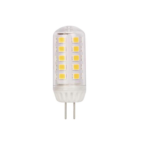 3W G4 LED Clear 3000K G4 Pin Base, 12 Volt, Box