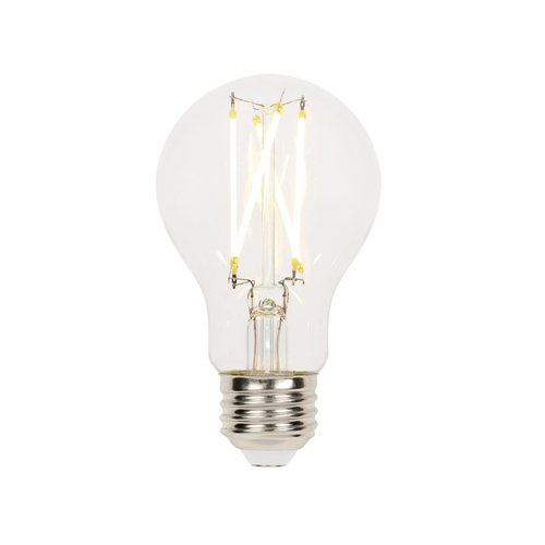 9W A19 Filament LED Dimmable Clear 2700K E26 (Medium) Base, 120 Volt, Box