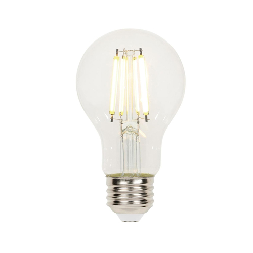 6.5W A19 Filament LED Dimmable Clear 2700K E26 (Medium) Base, 120 Volt, Box