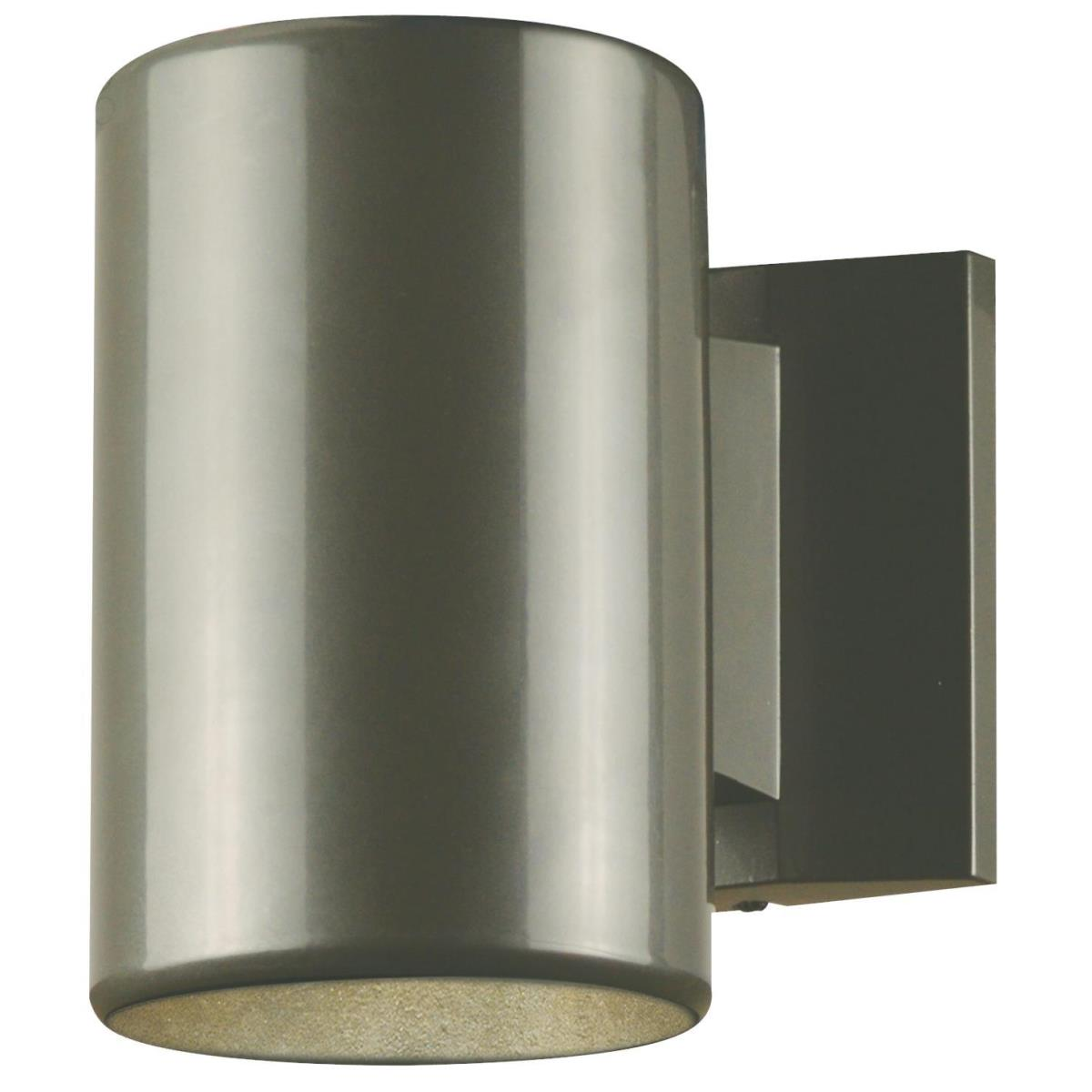 1 Light Wall Fixture Polished Graphite Finish