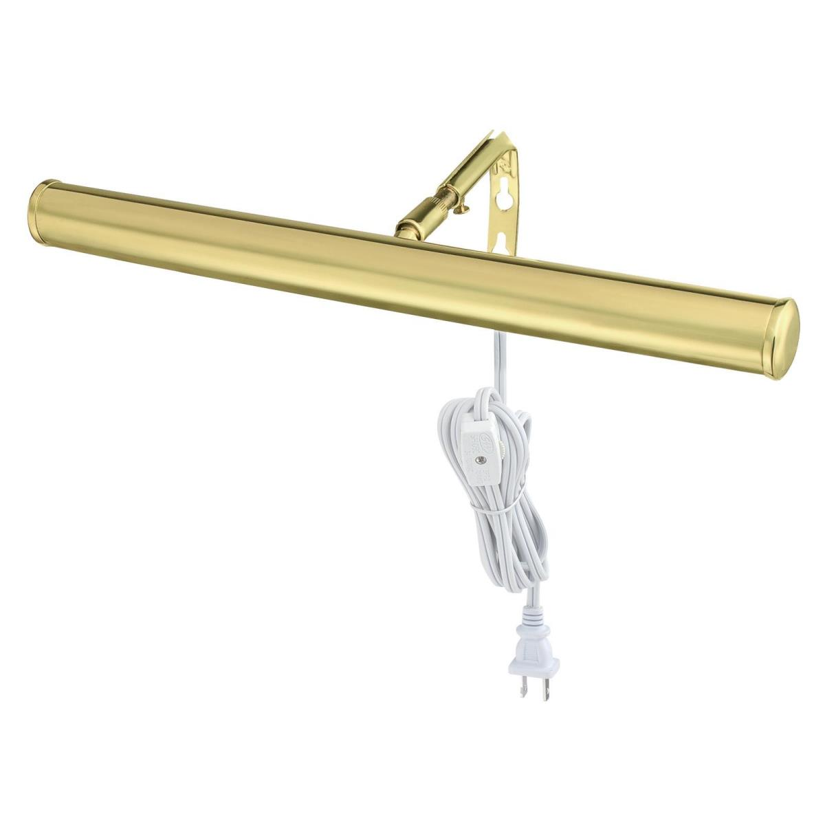 "14"" Picture Light Polished Brass Finish"