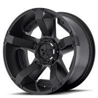 XD811 Rockstar II, 18x9 with 5 on 5 and 5 on 135 Bolt Pattern - Matte Black
