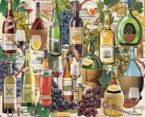Wine Country 1000 piece Puzzle