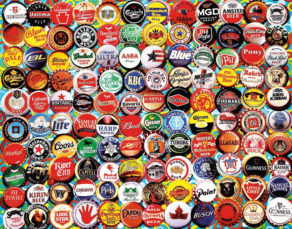 Beer Caps 550 piece Puzzle