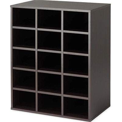 15 Section Organizer Espresso