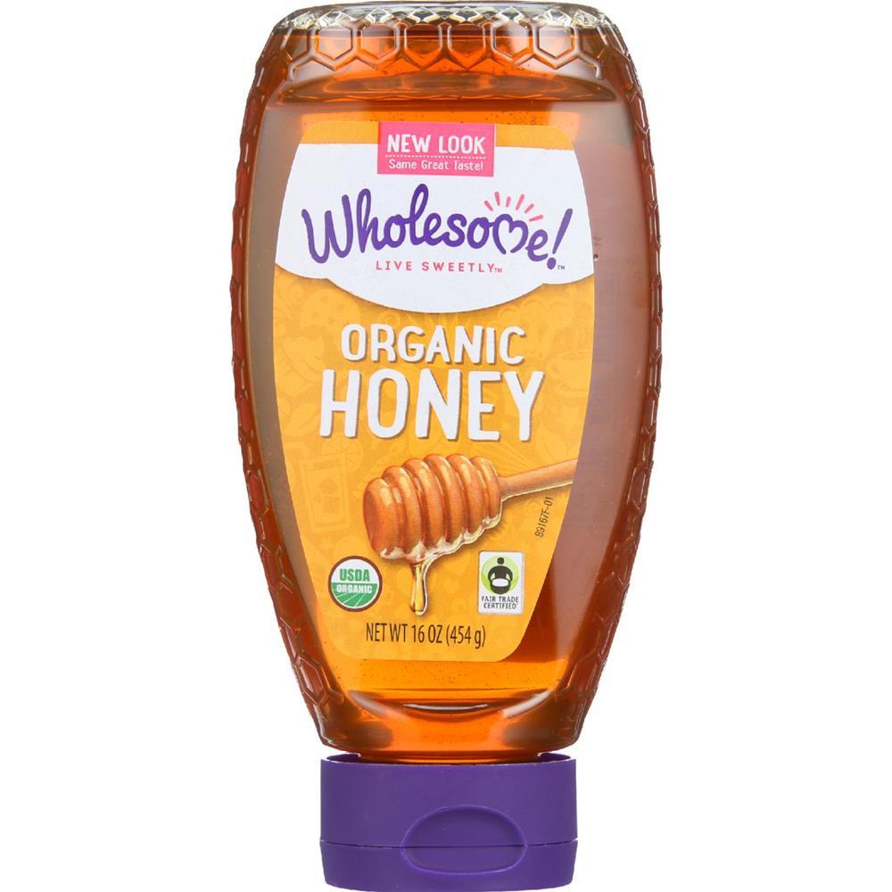 Wholesome! - Amber Honey ( 6 - 16 OZ)