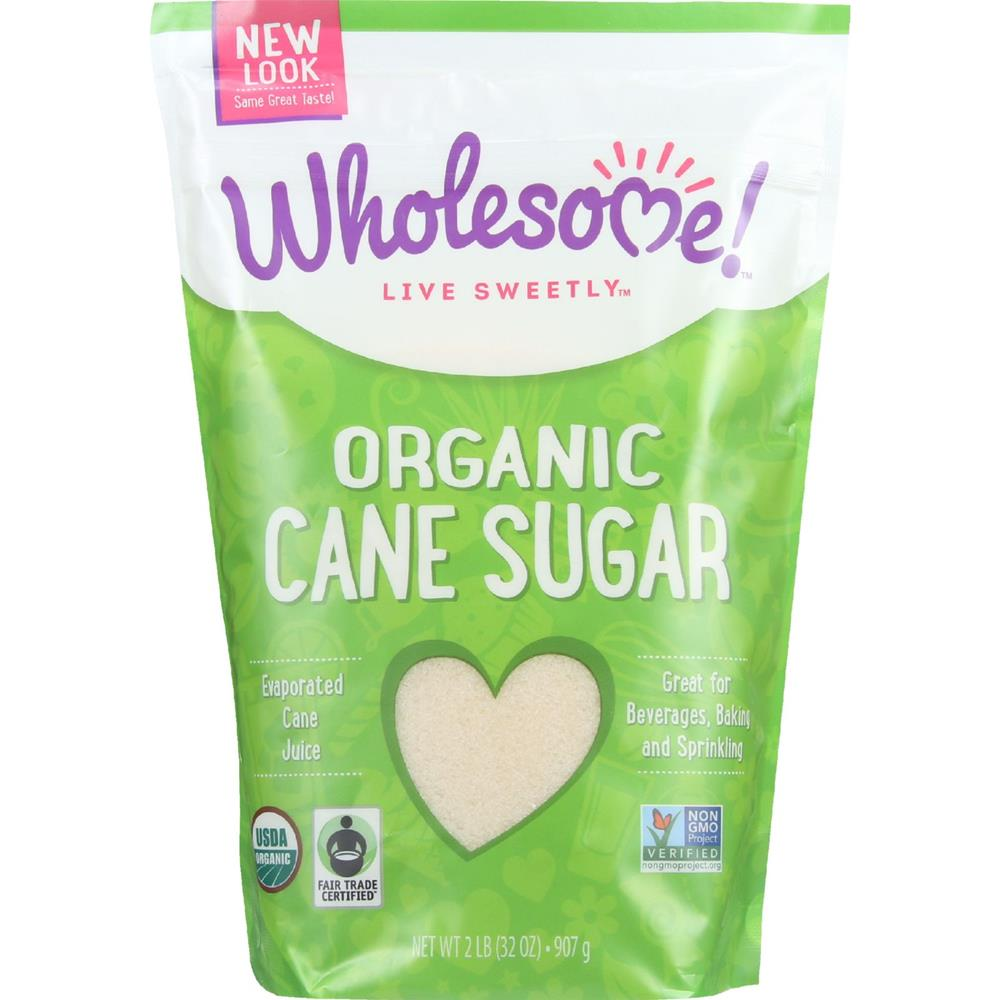 Wholesome! - Evaporated Cane Sugar ( 12 - 2 LB)