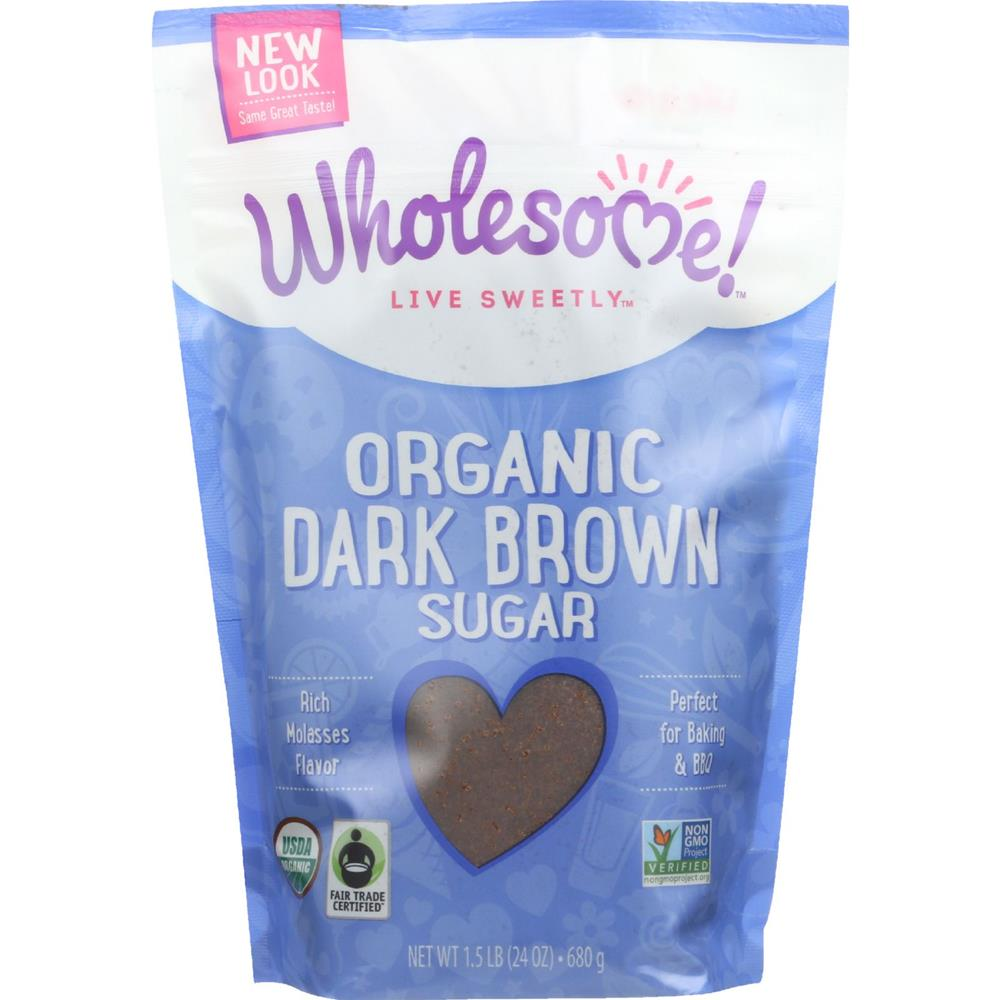 Wholesome! - Dark Brown Sugar ( 6 - 24 OZ)