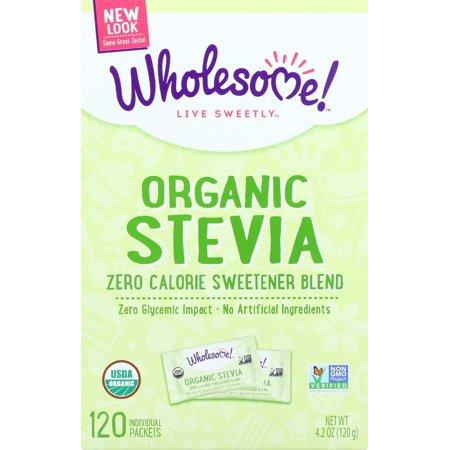 Stevia - Organic ( 6 - 120 CT )
