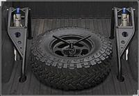 BED MOUNT TIRE CARRIER