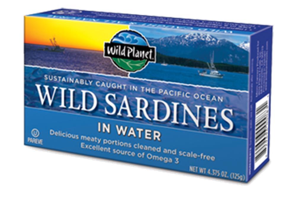 Wild Planet - Sardines In Spring Water ( 12 - 4.375 OZ)