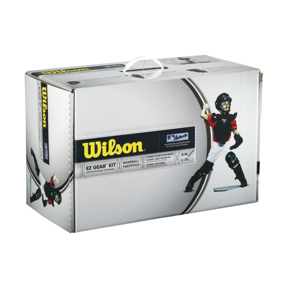 Wilson EZ Gear Catcher's Kit Size L/XL