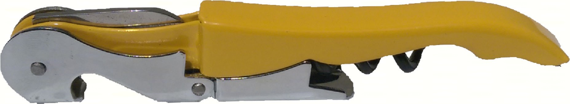 Yellow Unprinted Corkscrew