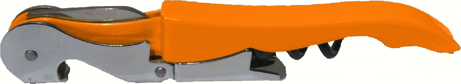 Orange Unprinted Corkscrew