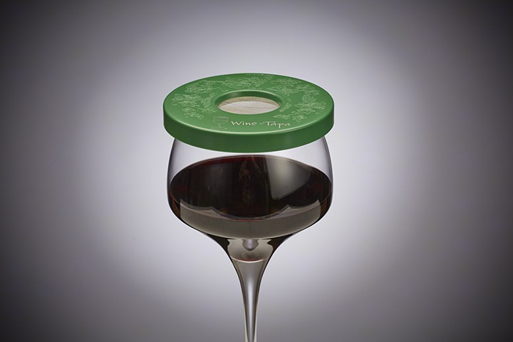 Wine Glass Cover - Evergreen Color