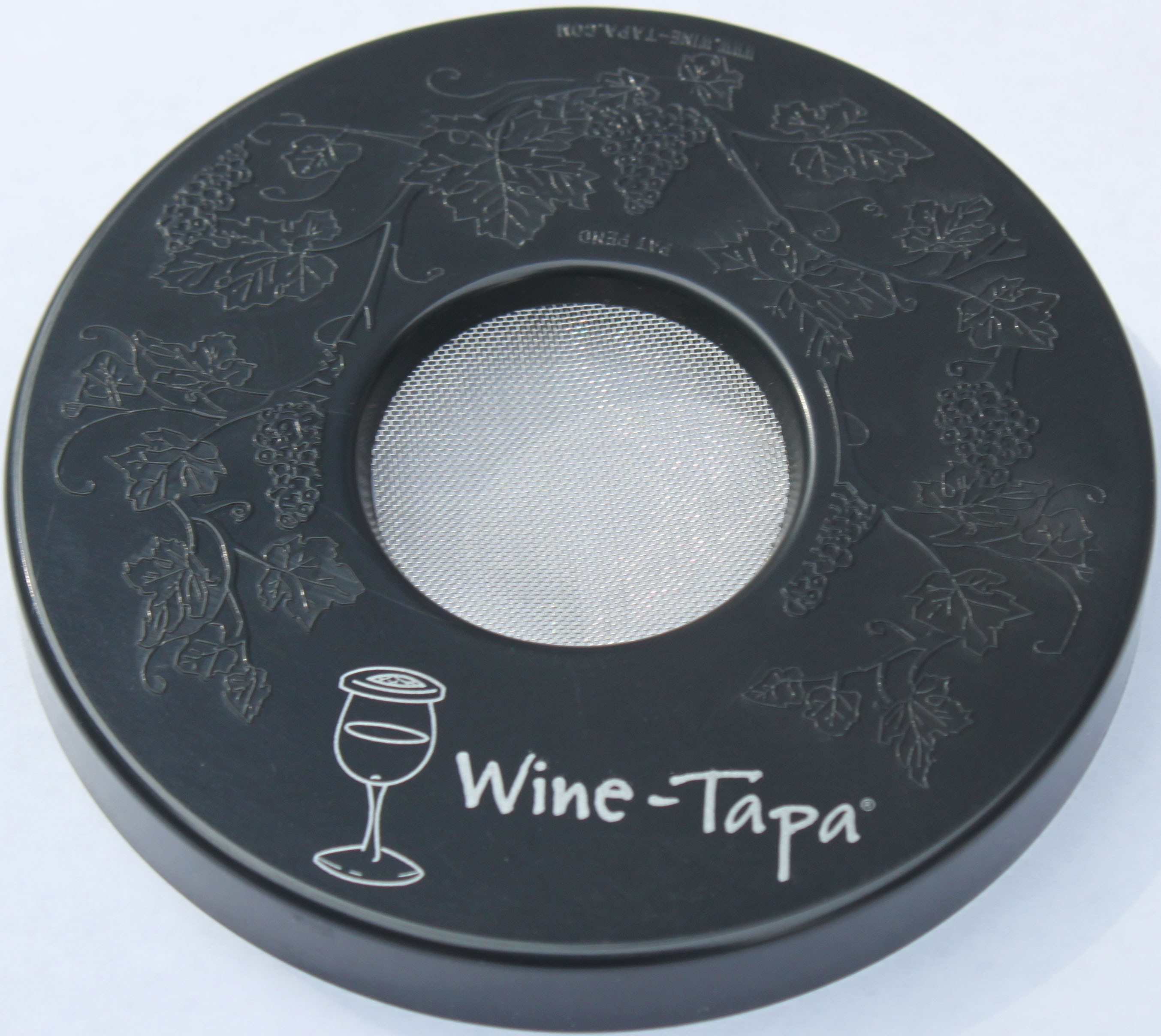 Wine Glass Cover - Graphite Color