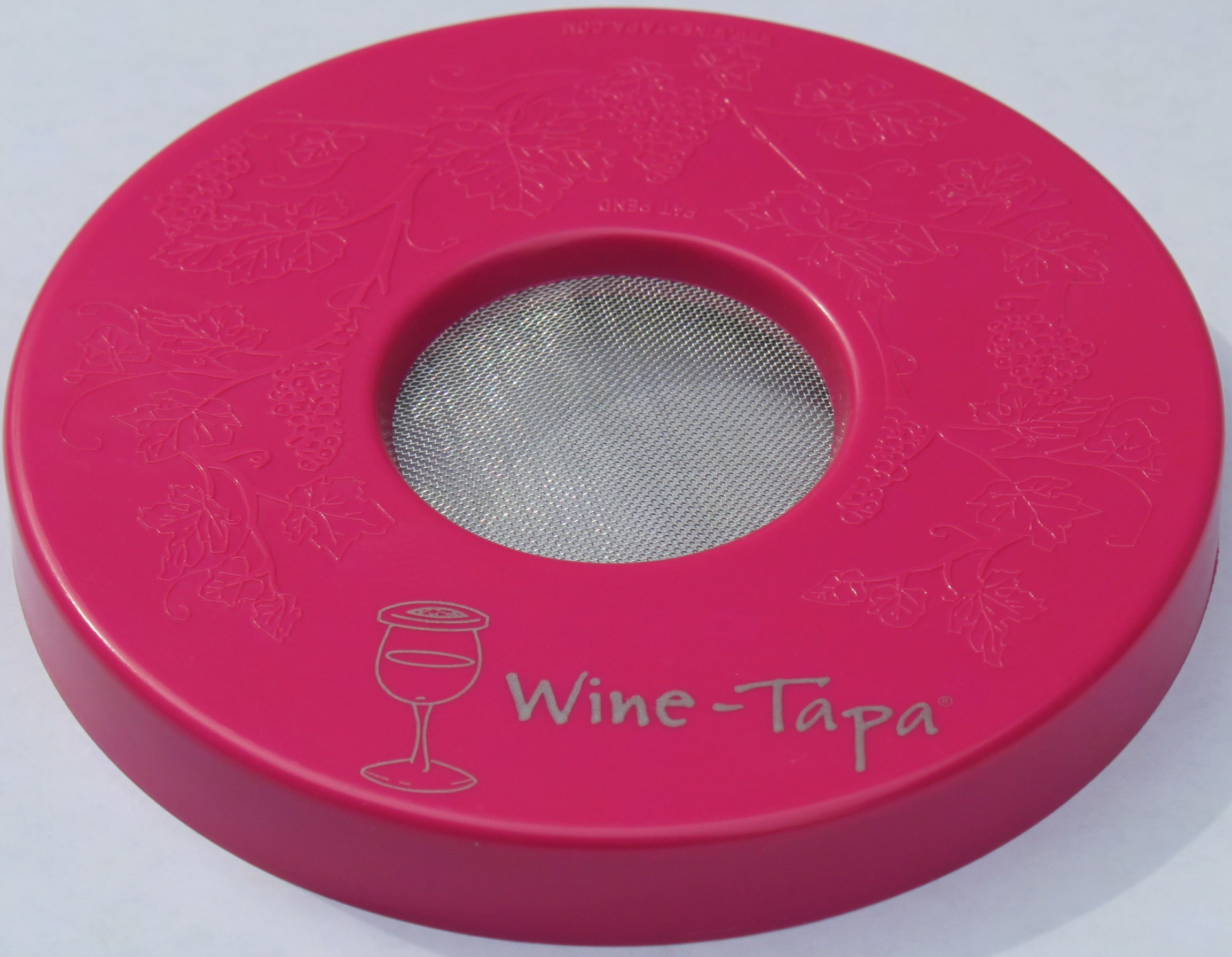 Wine Glass Cover - Hot Pink Color