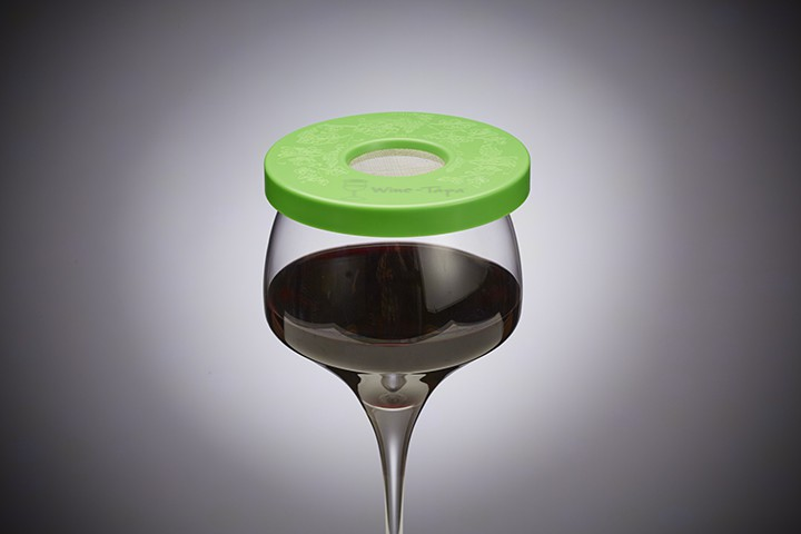 Wine Glass Cover - Lime Color