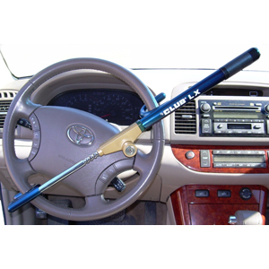 The Club LX Vehicle Anti-theft Steering Wheel Lock (Blue)
