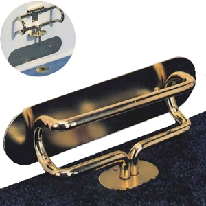 The Door Club Home Security Lock (Brass)
