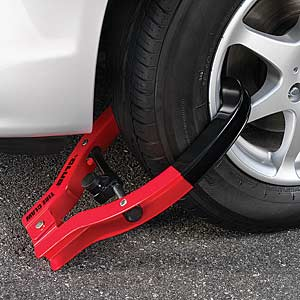 The Club Tire Claw XL Trailer & Equipment Anti-Theft Lock