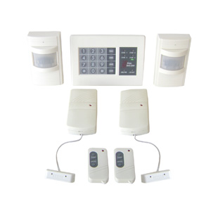 The Club Wireless Electronic DIY Home Security Alarm System